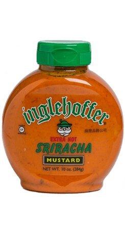 Inglehoffer Sriracha Mustard, 10 Ounce (Pack of 6)