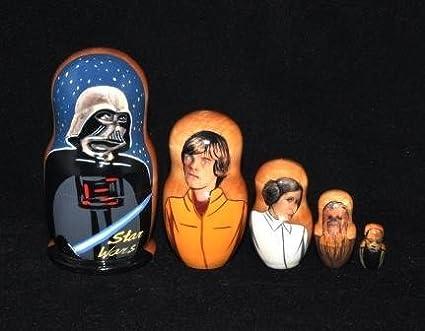 Nesting Doll Star Wars 1 5 pcs Russian Matryoshka