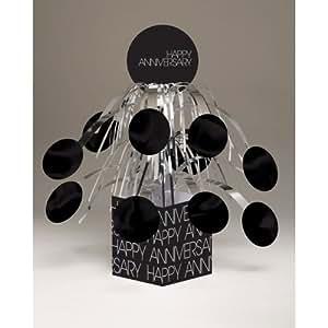 Classic Celebrations Happy Anniversary Mini Foil Centerpiece 10.5-inch