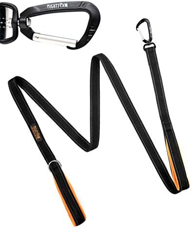 Mighty Paw Handle Leash Black product image