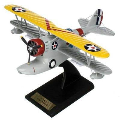 Grumman J2F-2 Duck Handcrafted Quality Desktop Aircraft Model Display / USMC Utility Amphibian Biplane Aircraft / Unique and Perfect Collectible Gift Idea / Aviation Historical Replica Gift -