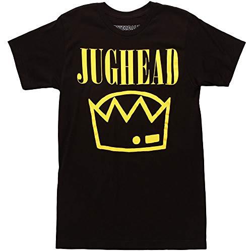 Riverdale Jughead Crown Adult T-Shirt - Black -