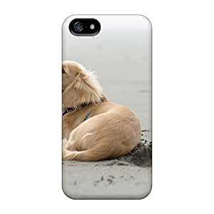 Zheng case5/5s Scratch-proof Protection Case Cover For Iphone/ Hot Beach Animals Dogs Outdoors Pets Phone Case