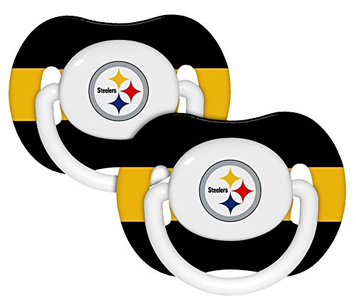 Baby Fanatic Pacifier Pittsburgh Steelers product image