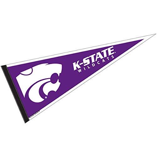 Kansas State Wildcats Team Pennant - College Flags and Banners Co. Kansas State Wildcats Pennant Full Size Felt
