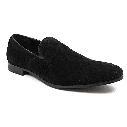 AZAR Shoes Modern on MAN Men's Dress Slip New Loafers Black Azar HqxBHpwr