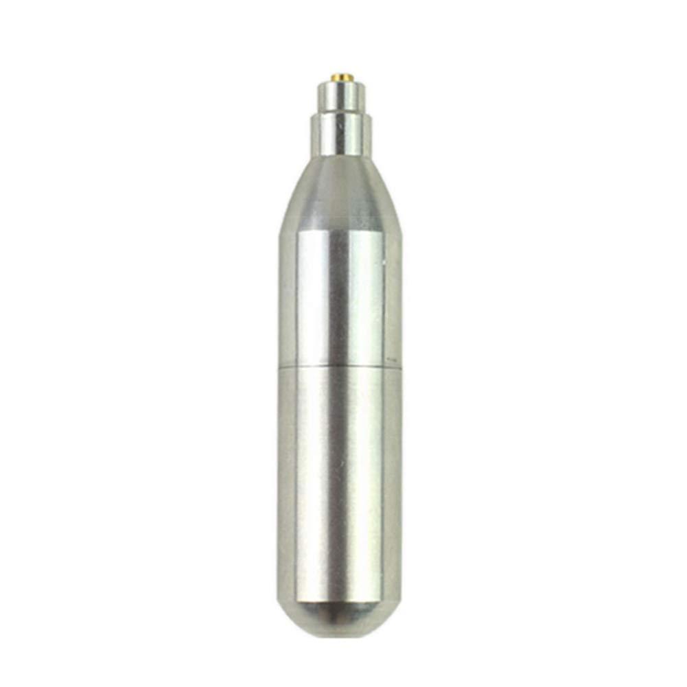 Aesy Cartouche de CO2 12g, Accessoires de Pistolet de Chasse de Capsule de Cylindre de Cuivre Réutilisables Rechargeables