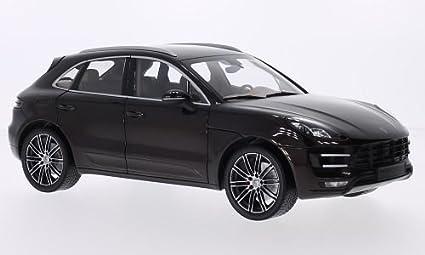 Porsche Macan Turbo, metallic-brown, 2013, Model Car, Ready-made