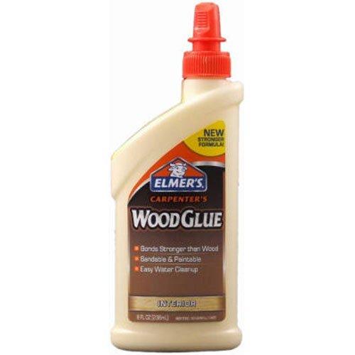 Elmer's E7010 Carpenter's Wood Glue, Interior, 8 Ounces (2-Pack)