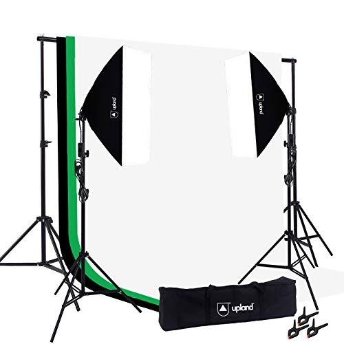 - Upland Softbox Lighting Kit for Photo, Photography and Video Studio, 2 Softbox (20x28