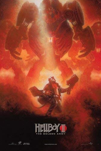 Timothy Carney Hellboy 2: The Golden Army Poster Movie E ...