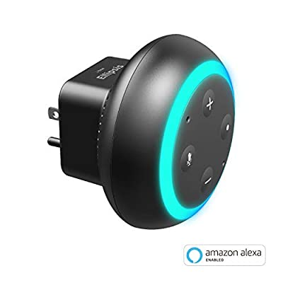 Ellipsis Plug-in Smart Speaker with Amazon Alexa