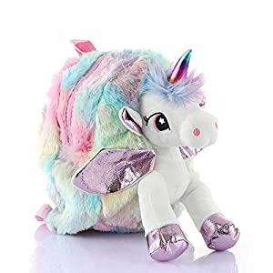 ShopNGift™ Unicorn Plush Bag Toy...