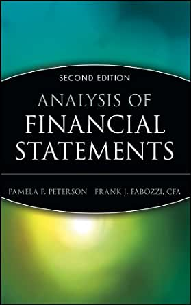Literature review importance of financial statement analysis by author