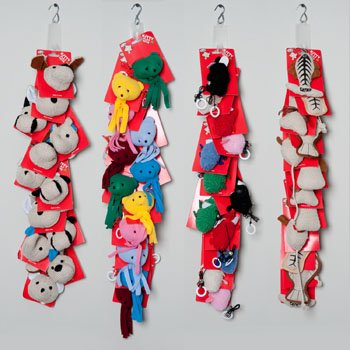 CAT TOY G ASST ON MERCH STRIP 6 STYLES PER STRIP 4 STRPS PER, Case Pack of 48