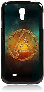 Linkin Park Inspired Smokey Logo-Hard Black Plastic Snap - On Case-Galaxy s4 i9500 - Great Quality!