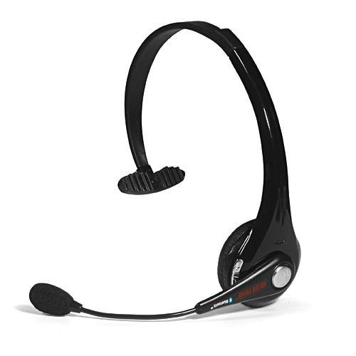 MotorTrend Noise Cancelling Bluetooth Headset MT-BT08 Black
