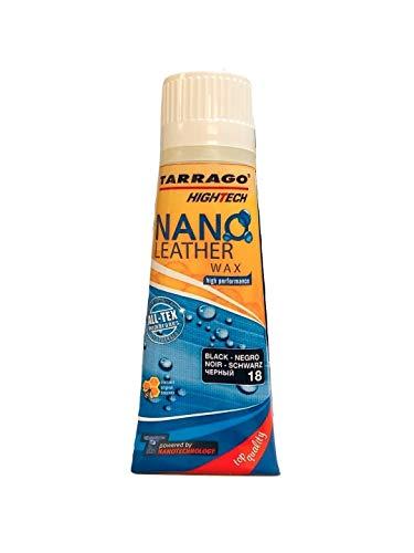 Tarrago HighTech Nano Leather Wax, Black, 2.64 fl.oz.