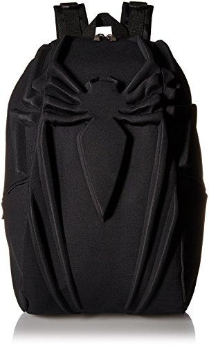 Madpax Marvel Spiderman Backpack, Black