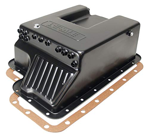 Derale 14208 Transmission Cooling Pan for Ford E4OD, 4R100, 5R110 and - 4r100 Pan Transmission