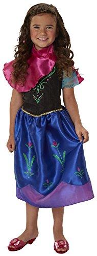 Disney Frozen Anna New Adventure Dress 4-6x (Disney Anna Frozen Costume)
