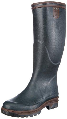 AIGLE Parcours, Stivali di gomma uomo, colore: Verde/Bronzo nero
