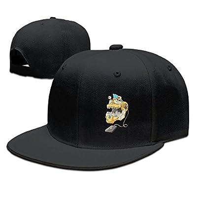 KIOJIANM Funny Robot Classic Cool Baseball Caps Snapback Hats
