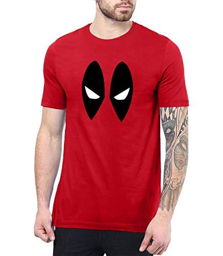 Red Deadpool Ryan Reynolds | Eye Mask Shirt, S -