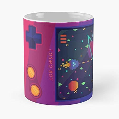 Retro Gaming Console Game Cool - Ceramic Mugs ()