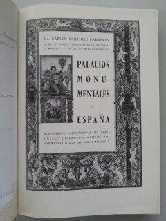 PALACIOS MONUMENTALES DE ESPAÑA: Amazon.es: Carlos Sarthou Carreres, SEMANA GRAFICA S.A,: Libros