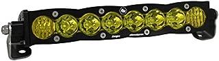 "product image for Baja Designs S8 UTV 10"" LED Light Bar Driving Combo Amber Pattern"