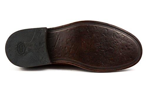 Base London - Zapatos de cordones de Piel Lisa para hombre 42 Braun - Cognac