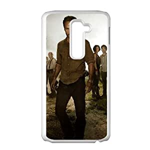 LG G2 Cell Phone Case White The Walking Dead Q0304485