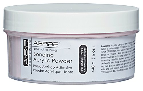 ASP Intense Pink Bonding Acrylic Powder by ASP