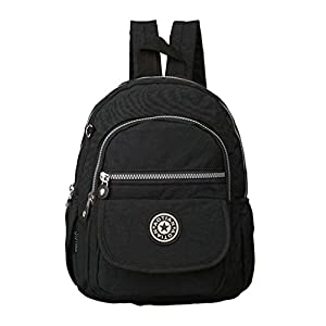 Melord Small Daypack Outdoor LightWeight Backpack for Women Waterproof Handbag