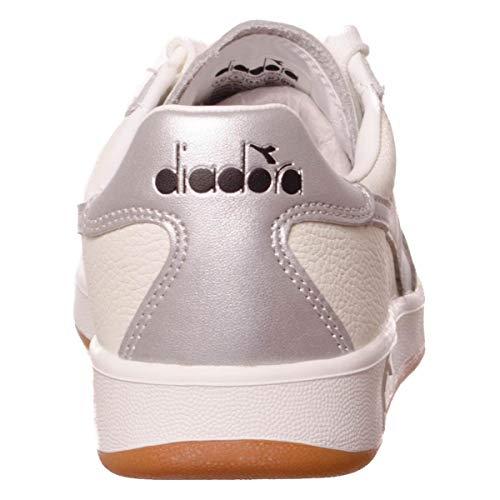 L Diadora B silver elite White rREqaRw