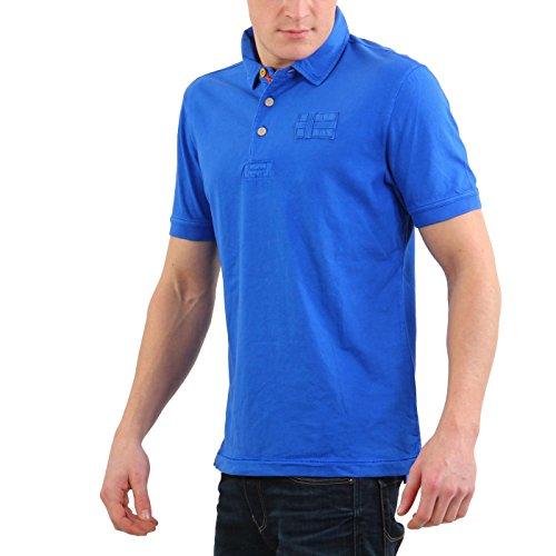 NAPAPIJRI Herren Kurzarm Poloshirt ESEO Energy Blue 9BDB09 2. Wahl Größe XL
