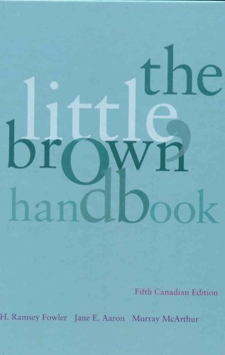 LITTLE,BROWN HANDBOOK >CANADIAN<