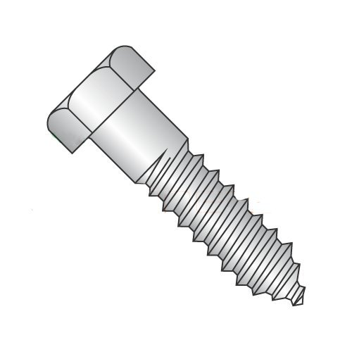 5/8 x 6'' Hex Lag Screws 18-8 Stainless Steel (Quantity: 50) - 5/8-5 x 6''