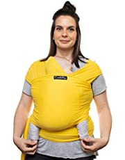 Cuddlebug Baby Wrap - Newborn & Toddler Carrier for Babies up to 36 lbs