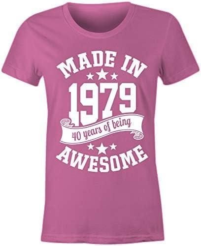 Amazon.com: 6TN - Camiseta de 40 cumpleaños para mujer: Clothing