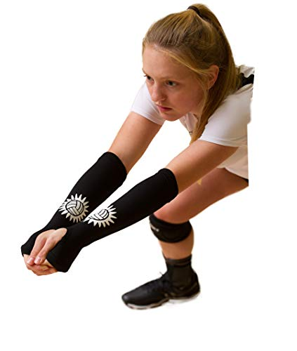 Tandem Sport Volleyball Passing Sleeve, Black, Small/Medium (Best Volleyball Shoes For Libero)