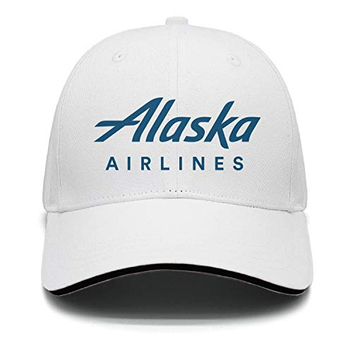 Ruslin Alaska Airlines Logo Women Men Strapback Hat Adjustable Summer caps