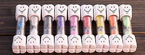 Kids Toothbrush Timer 2 Minute Smiley Sand Timer for Brushing Children's Teeth Doyeemei