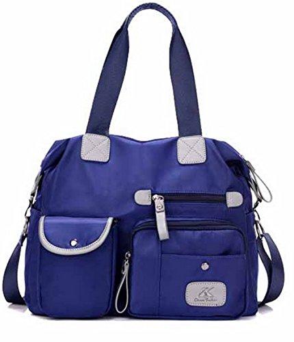 VogueZone009 Femme Sacs à CCAFBP180706 Bleu extérieures Activités Bandoulière Sacs HHr4w