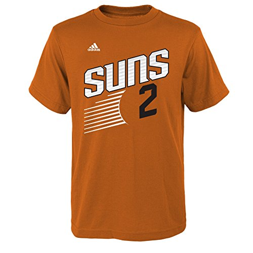 NBA Youth Boys 8-20 Phoenix Suns Eric Bledsoe Name and Number Short Sleeve Tee-Texas Orange-L(14-16)