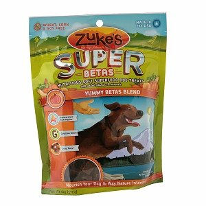 Zuke's Supers All Natural Nutritious Soft Superfood Dog Treats, Yummy Betas Blend 6-Ounce ( 2-Pack) For Sale