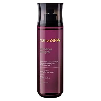 Linha Nativa Spa (Ameixa) Boticario - Colonia Body Splash 200 ML - (Boticario