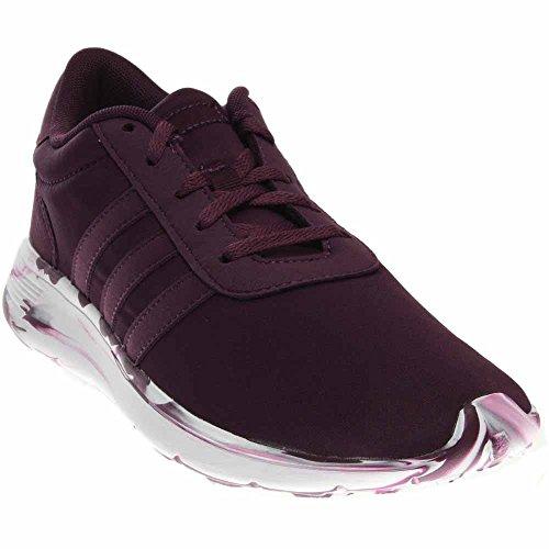 adidas neo donne lite racer w scarpa da corsa, nero / bianco / nero onix
