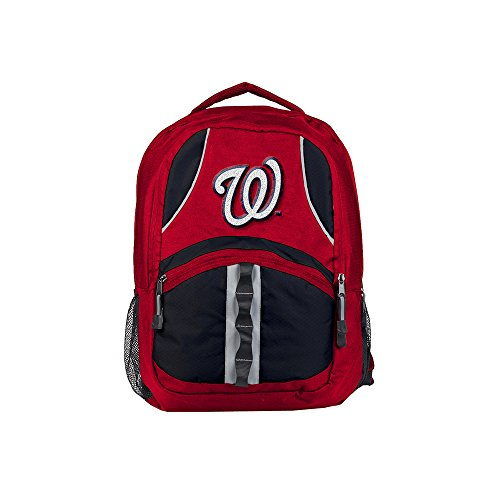 The Northwest Company Washington Nationals Backpack Captain Style Red and Black
